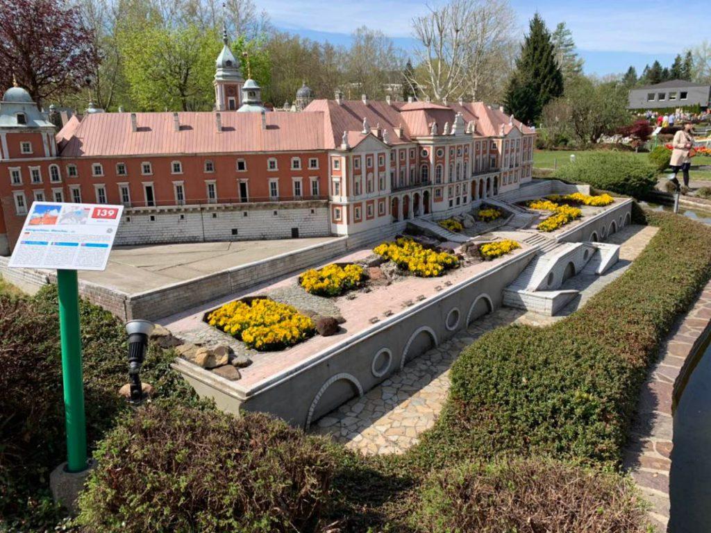 Maketa Kraljevske palate u Varsavi