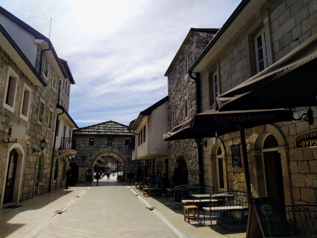 Glavna ulica u Andricgradu