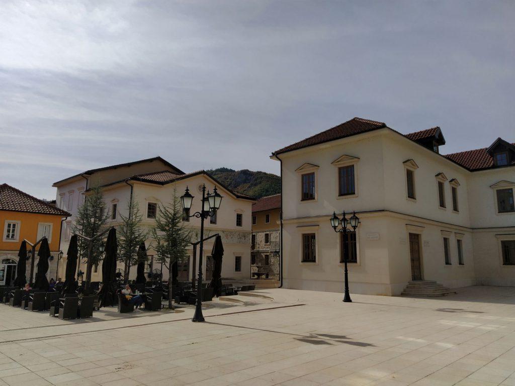 Trg Nikole Tesle Andricgrad