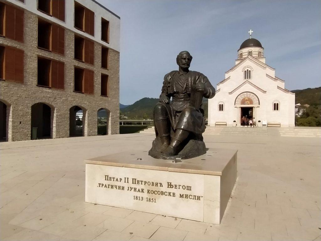 Trg Petra Petrovica Njegosa Andricgrad