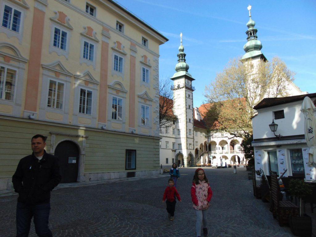 Landhaus u Klagenfurtu