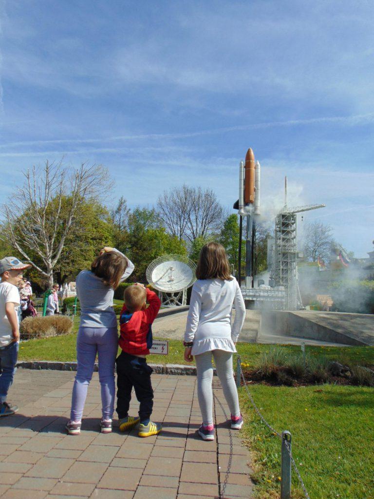 Interaktivan prikaz podizanja rakete