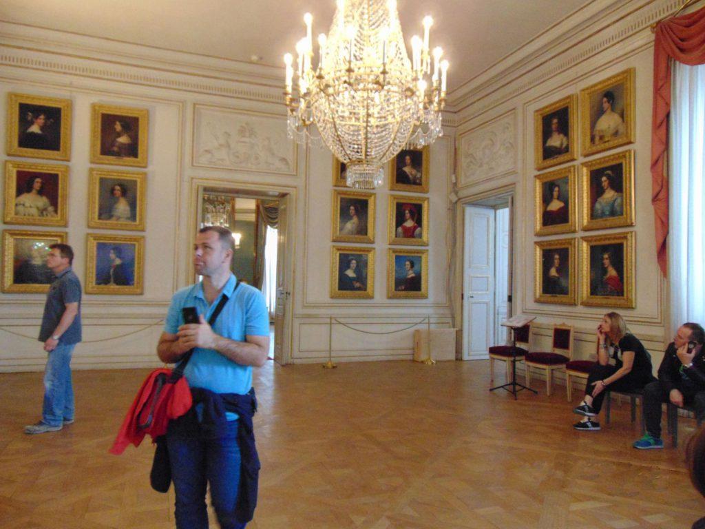 Odaja ljepotica dvorac Nymphenburg