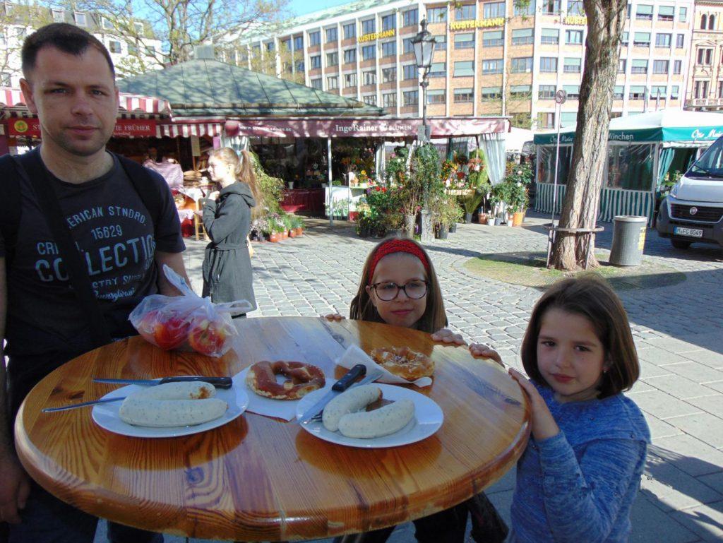 Sta jesti u Viktualienmarktu u Minhenu