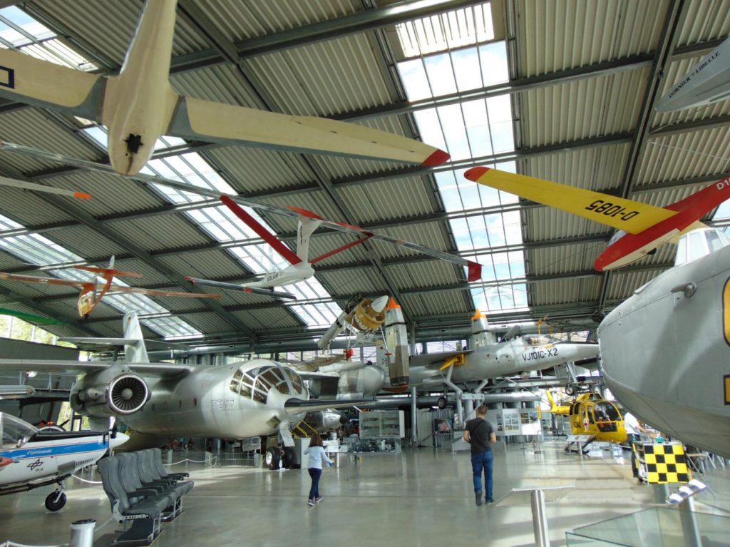 Vece letjelice u Deutsches museum Flugwerft Schleissheim