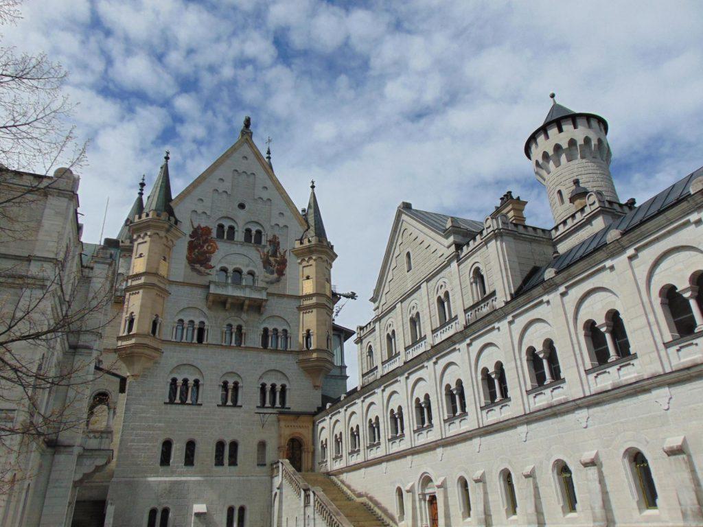 dvoriste Neuschwanstein dvorca