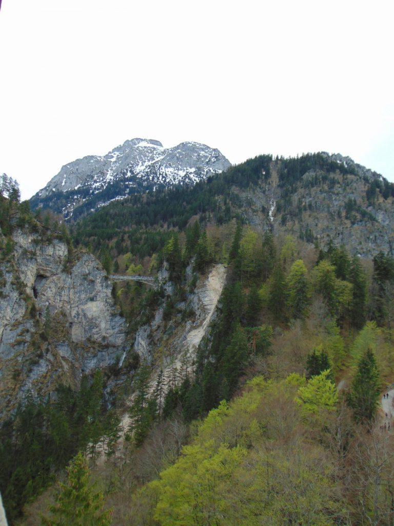 Pogled na Marijin most sa dvorca Neuschwanstein