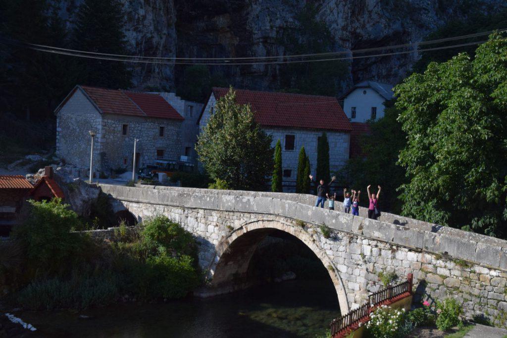 Turski most na izvoru Bistrice