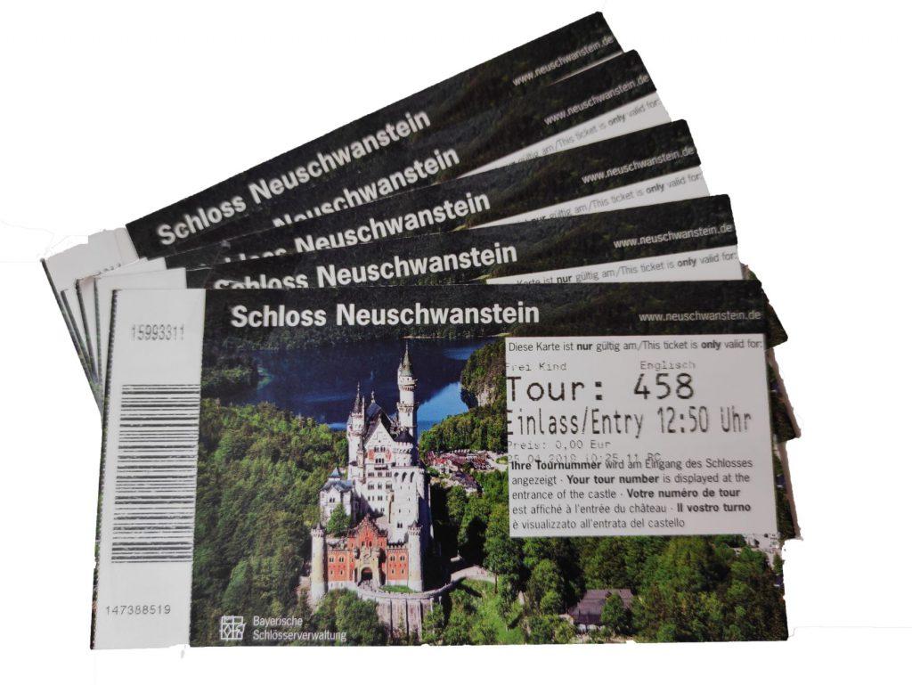 Ulaznice dvorca Neuschwanstein
