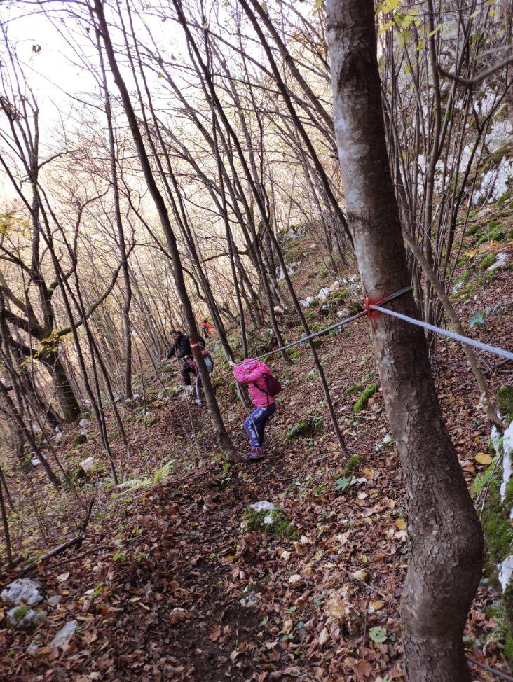 Planinarenje sa djeco Mackica pecina