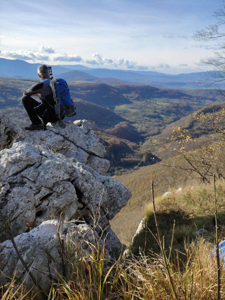 Planinar na Mackica kamenu