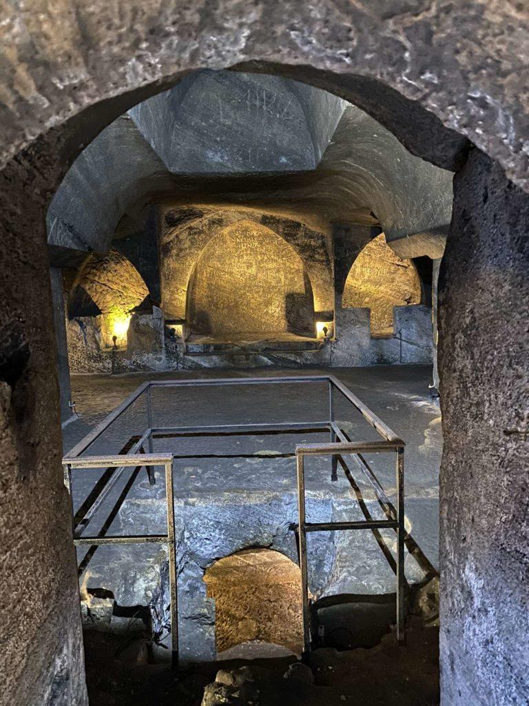 Unutrašnjost katakombi
