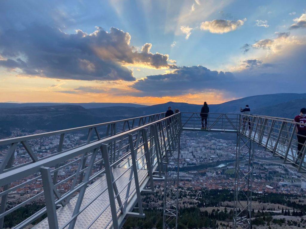 Sky walk Mostar