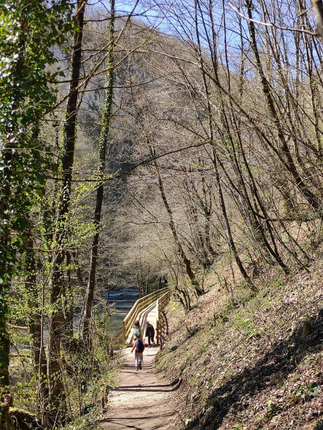 Staza do vodopada Blihe