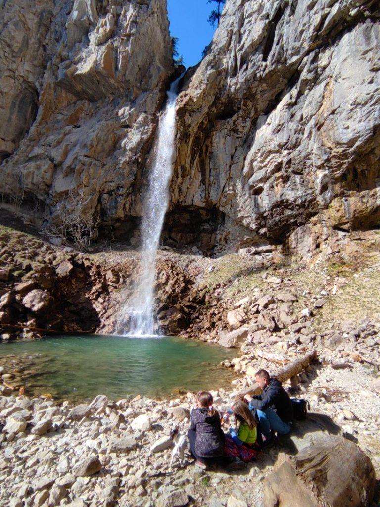 Veliki vodopad na Ilomskoj
