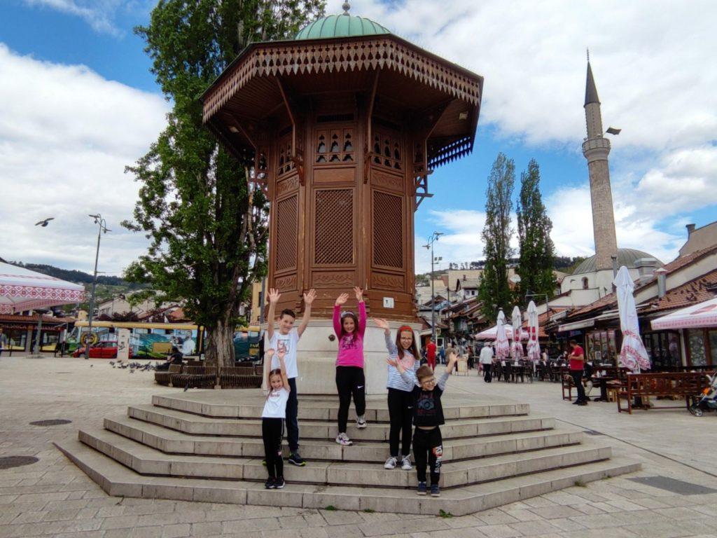 Bascarsija i sebilj sta posjetiti u Sarajevu