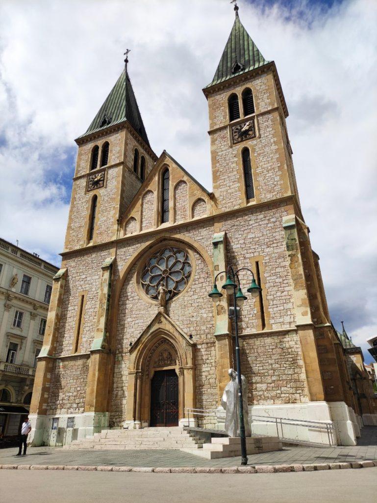 Katedrala srca Isusova - sta posjetiti u Sarajevu