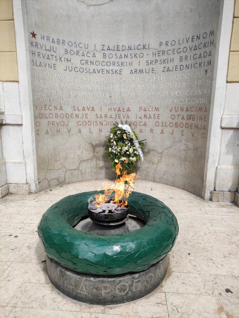 Vječna vatra u Sarajevu