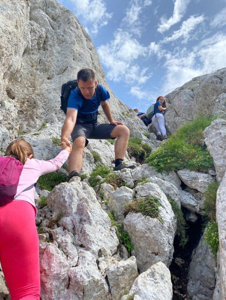 uspon na vrh planine Maglica BiH