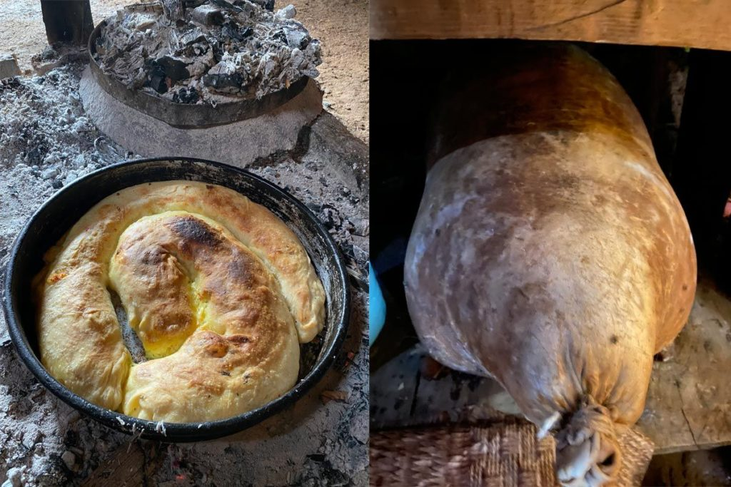 pita ispod saca i sir iz mjesine