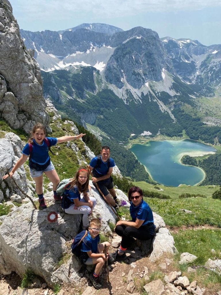 pogled na Trnovacko jezero sa Maglica