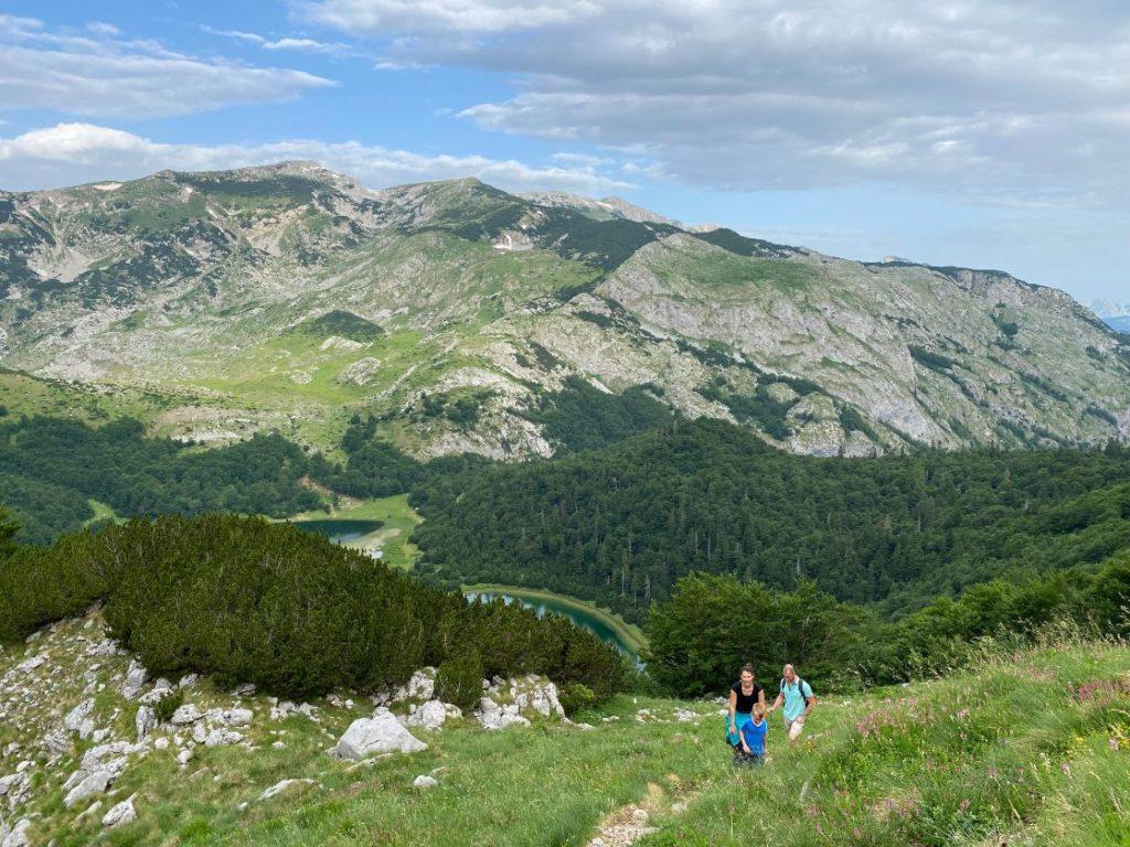 uspon na vrh planine Maglic