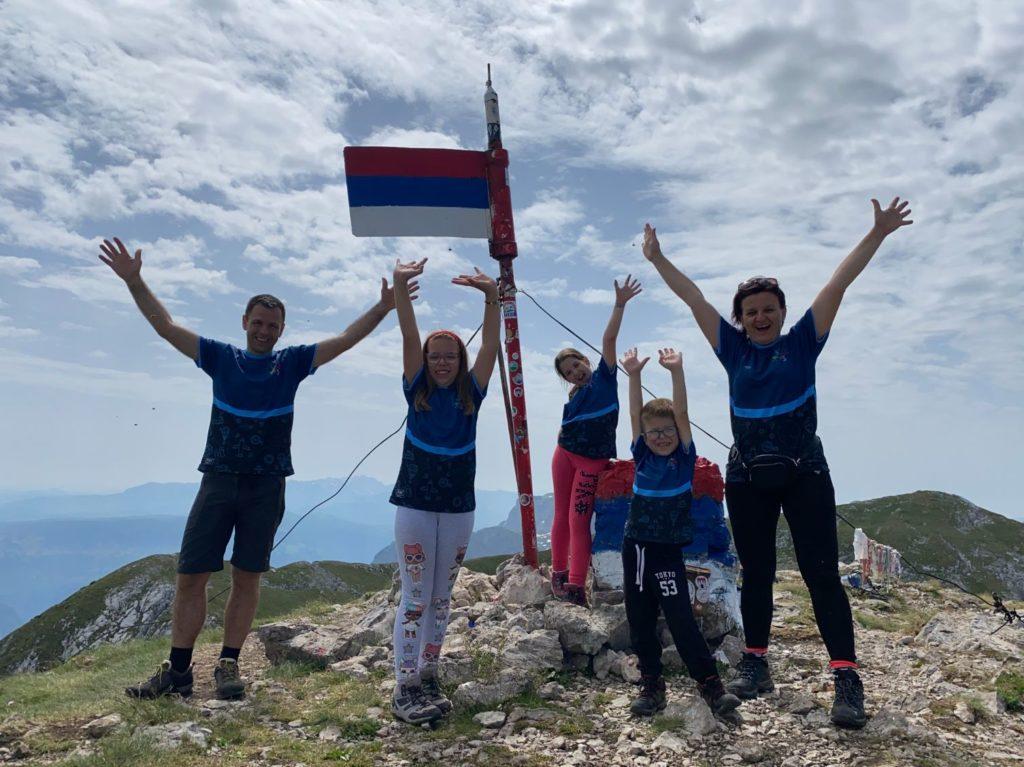 vrh planine Maglic na bosansko