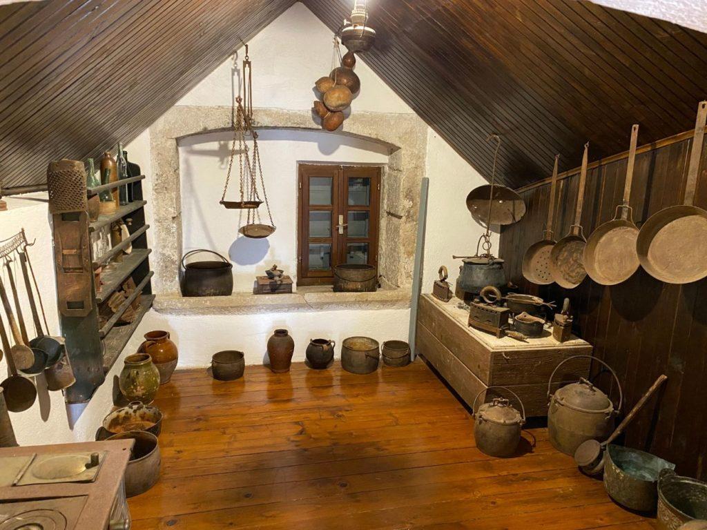 Kuhinja u Muzeju ostrva Brač