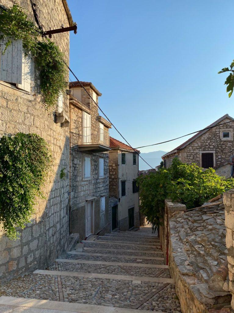 Stari dio grada Supetar