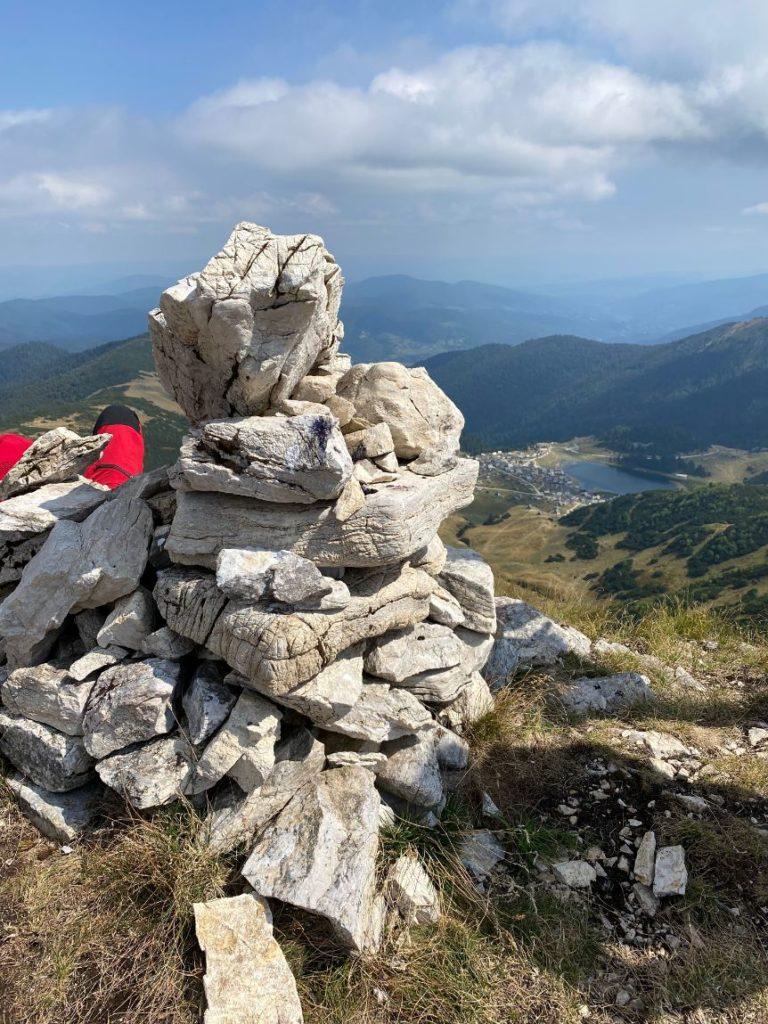 Vrh Krstac na planini Vranici