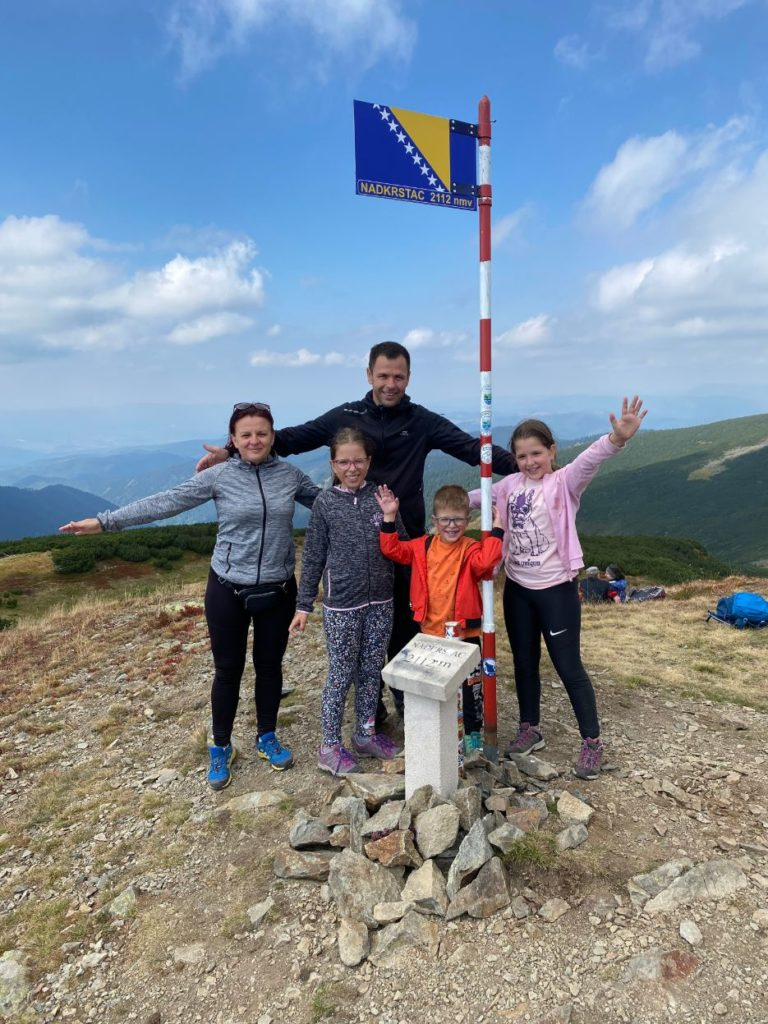 Vrh Nadkrstac na planini Vranici