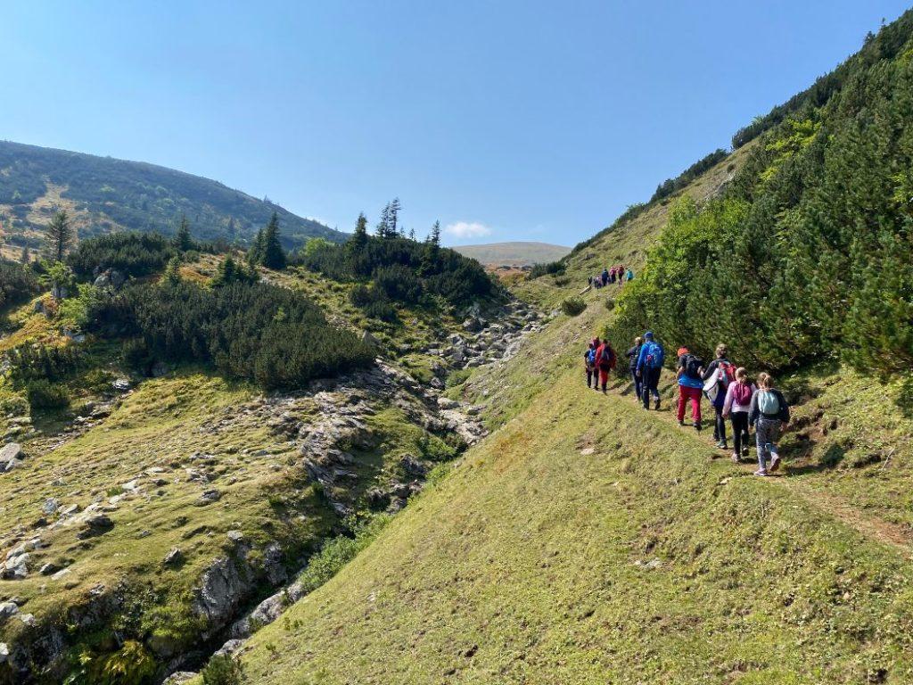 Vrhovi planine Vranice sa Proskoskog jezera