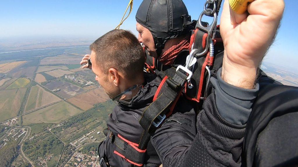 upravljanje padobranom